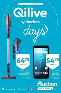 Auchan Qilive days Hipermarkety gazetka ważna od 10.09 do 24.09.2020