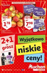 Auchan Supermarkety gazetka ważna od 15.10.2020 do 21.10.2020