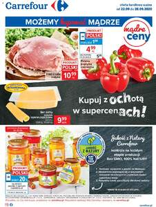 Carrefour gazetka ważna od 22.09.2020 do 28.09.2020