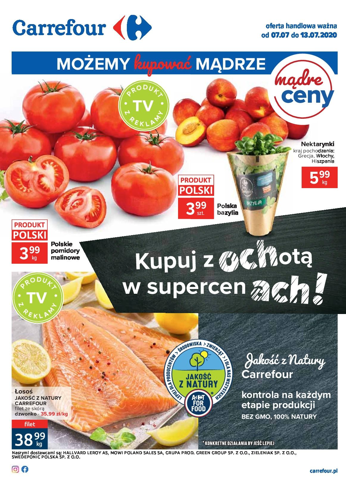 Gazetka Carrefour Oferta handlowa ważna od 07.07 do 13.07.2020