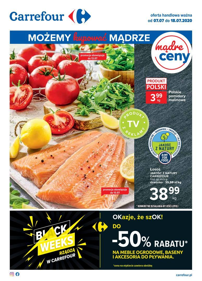 Gazetka Carrefour ważna od 7.07 do 18.07.2020
