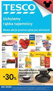 Tesco Hipermarkety gazetka ważna od 01.10.2020 do 07.10.2020