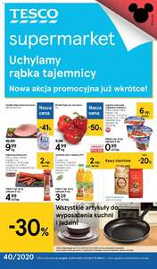 Tesco Supermarkety gazetka ważna od 01.10.2020 do 07.10.2020
